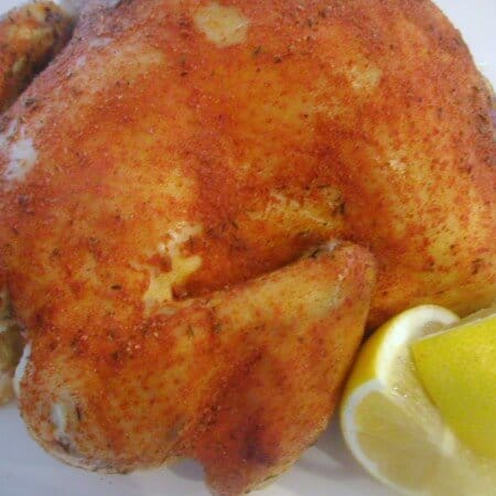Smoked Paprika Roast Chicken, Day One