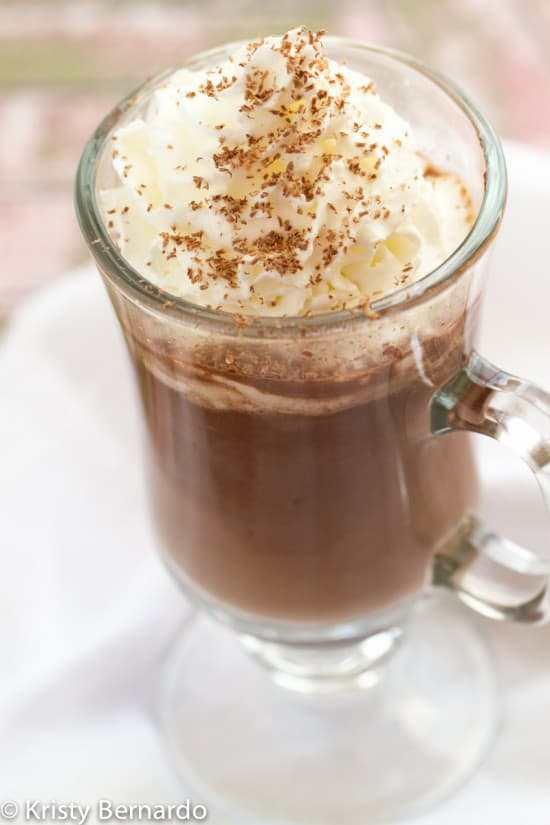 Nutella Hot Chocolate is easy to make and uses just two ingredients - Nutella and hot milk! Creamy, rich and a wonderfully indulgent dessert.