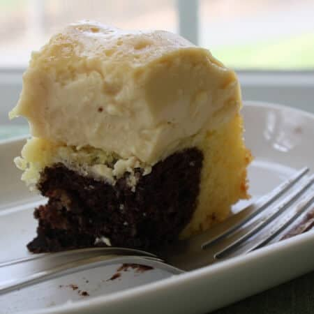 easy + flan x cake  = wickedly delicious