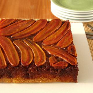 be our guest…banana upside down cake