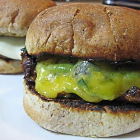 the portabella mushroom burger