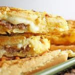 the stuffed french toast waffle panini