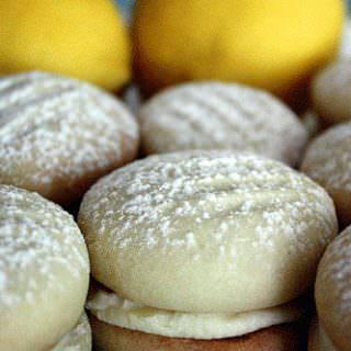 lemon buttercream melting moments