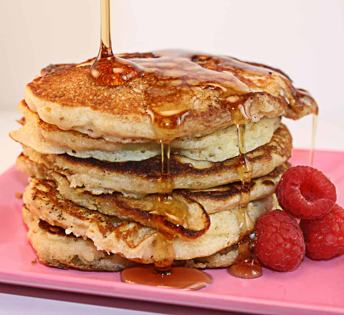 The BEST Oatmeal Pancakes Recipe