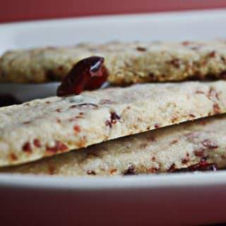 cherry shortbreads