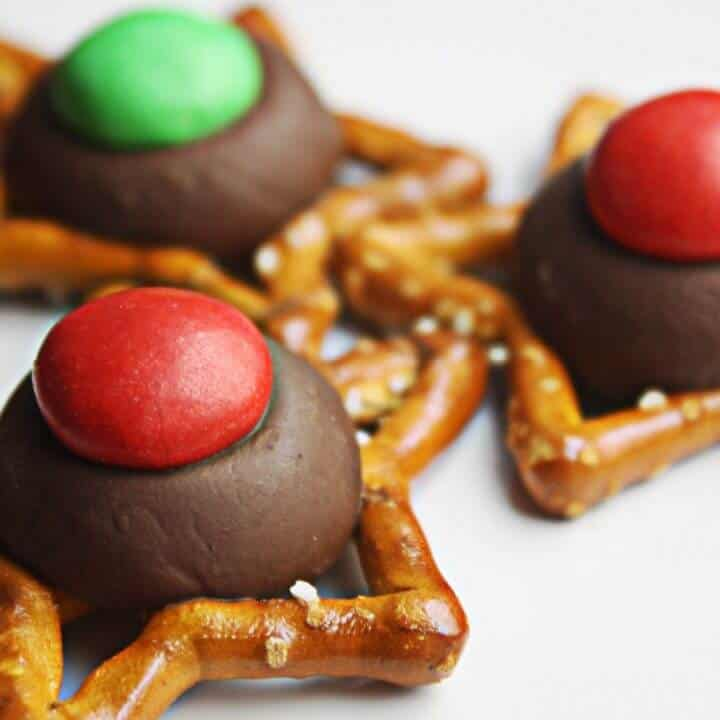Easy Christmas Cookies with Holiday Pretzels