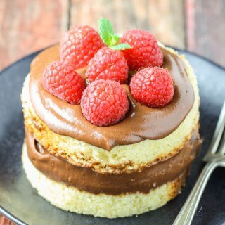 Nutella Mousse {just 2 ingredients!}