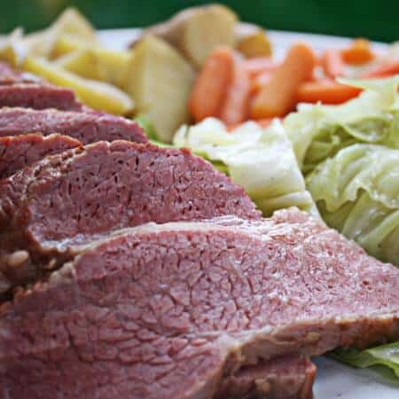 Corned Beef Recipe with Guinness & Cabbage