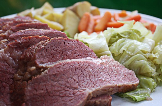 This Corned Beef Recipe with Guinness & Cabbage is packed with flavor and so easy. The secret is searing your meat first!