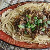 Szechuan Beef Pasta
