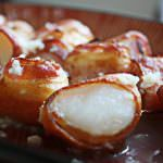 Bacon Wrapped Scallops (with garlic butter!)