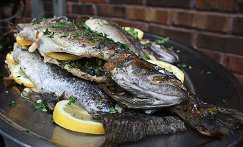 whole grilled trout once you know how. This recipe for grilled trout ...