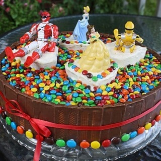 the candy cake