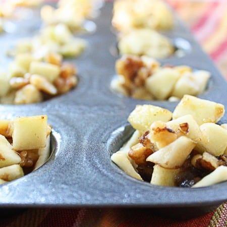 Good Bite & Mini Apple Walnut Tarts