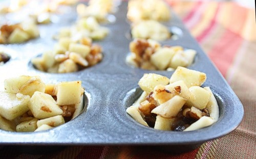 apple walnut tarts