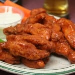 Fire up some Saucy Mama Hot Wings, on me!
