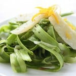 Shaved Asparagus Salad with Meyer Lemon & Grana Padano