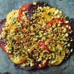 quick tomato gratin