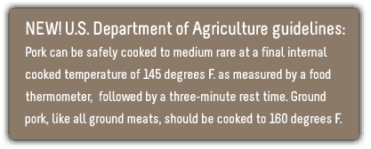 new pork temperature guidelines