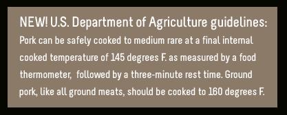 new pork temperature guidelines