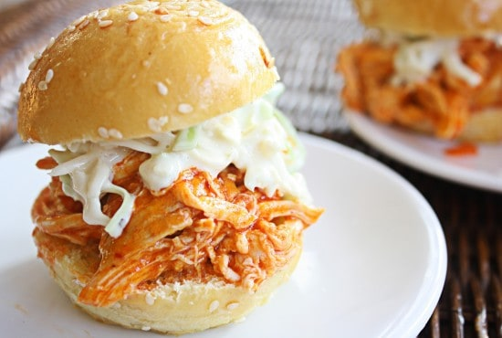 recipe: easy buffalo chicken sliders [27]