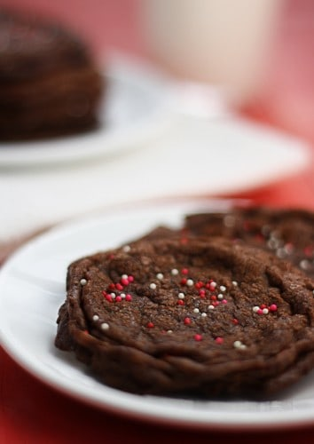 nutella valentines cookies