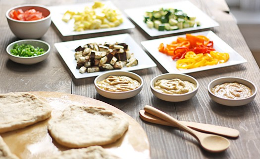 pizza smorgasbord