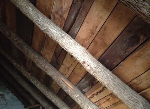 attic beams