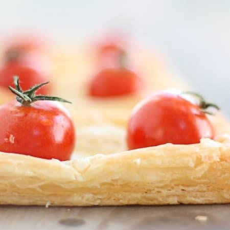 tomato swiss tarts