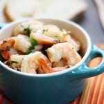 gambas pil pil (shrimp & garlic tapas)