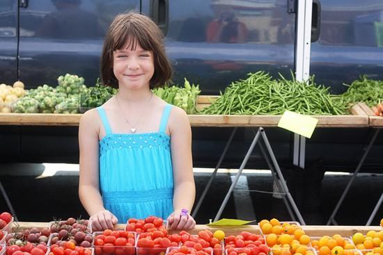 kylie farmers market