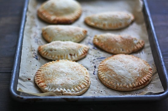 baked peach pies