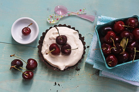bing cherry tart