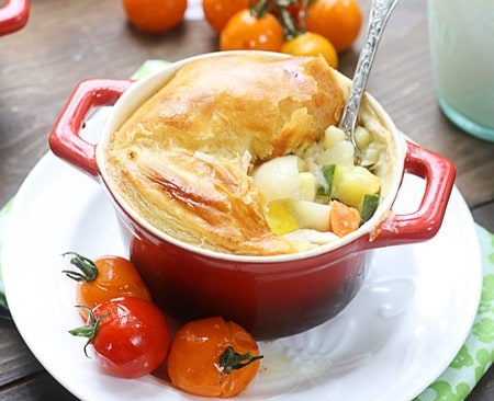 Chicken, Potato & Summer Vegetable Pot Pie