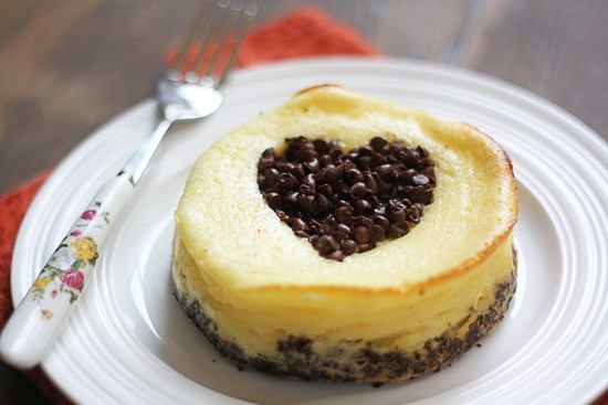 heart cheesecakes