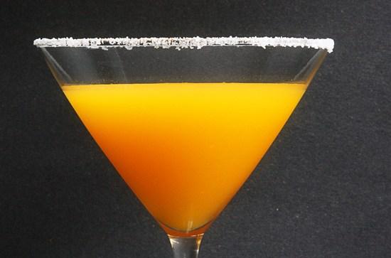 Spicy Passion Fruit Martini