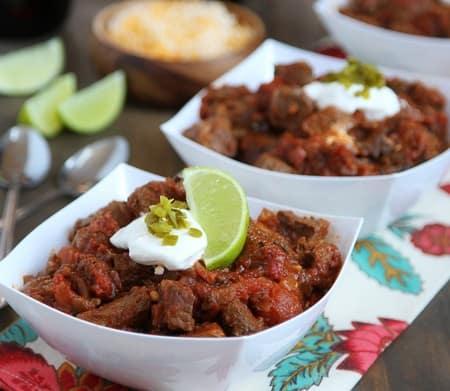 steak & poblano chili