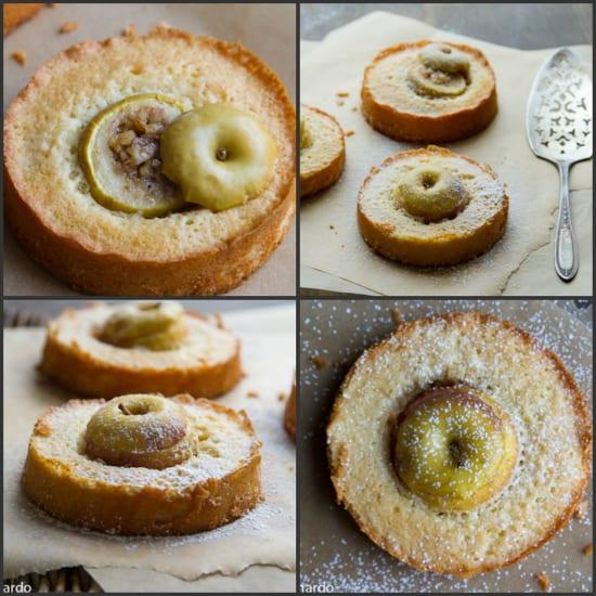 apple rum cakes