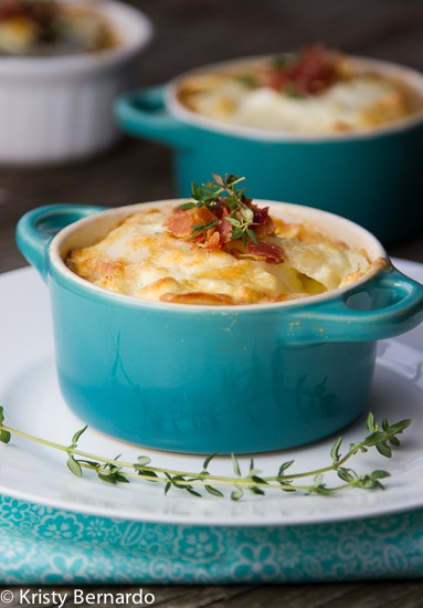 goat cheese gratin