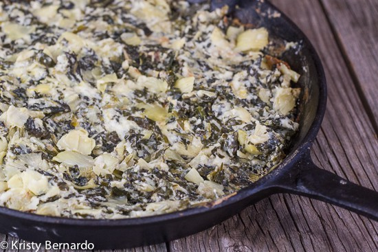 hot and creamy spinach artichoke dip