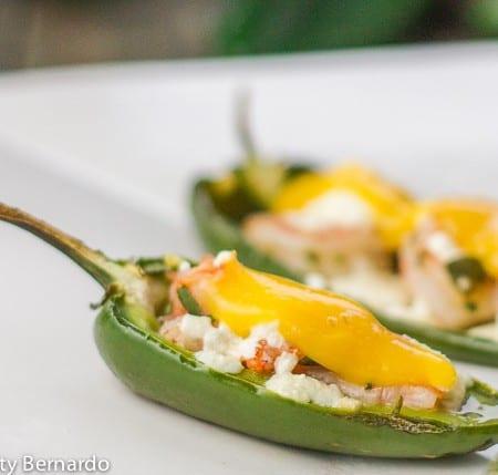 jalapeno shrimp poppers with mango sauce