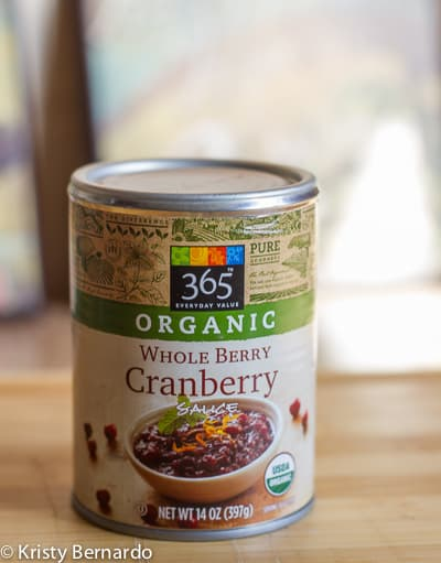 whole foods organic cranberry sauce