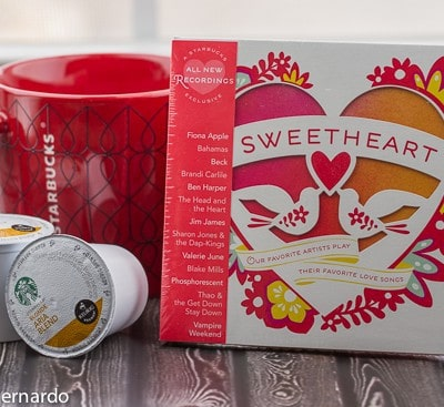 starbucks valentine's package giveaway!