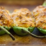 stuffed jalapenos with mexican chorizo & smoked gouda
