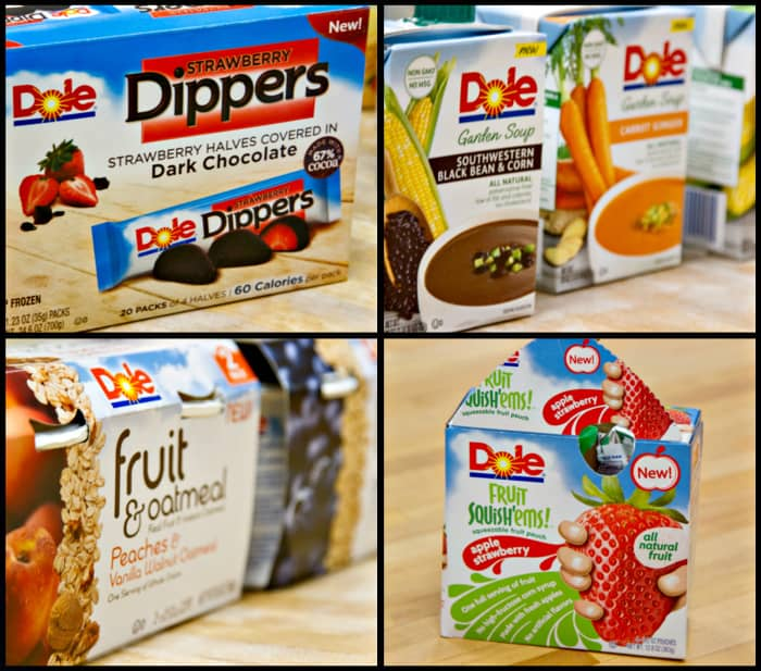 A few of my favorite DOLE products.