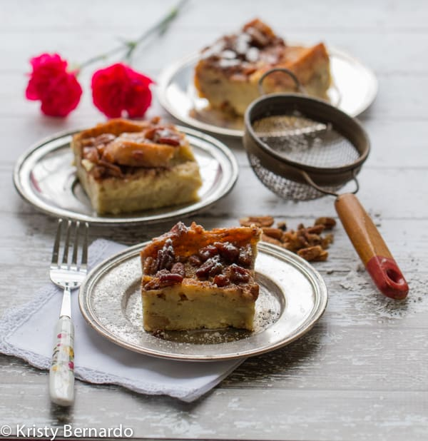 praline pecan overnight french toast casserole