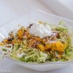 beet and mandarin orange salad