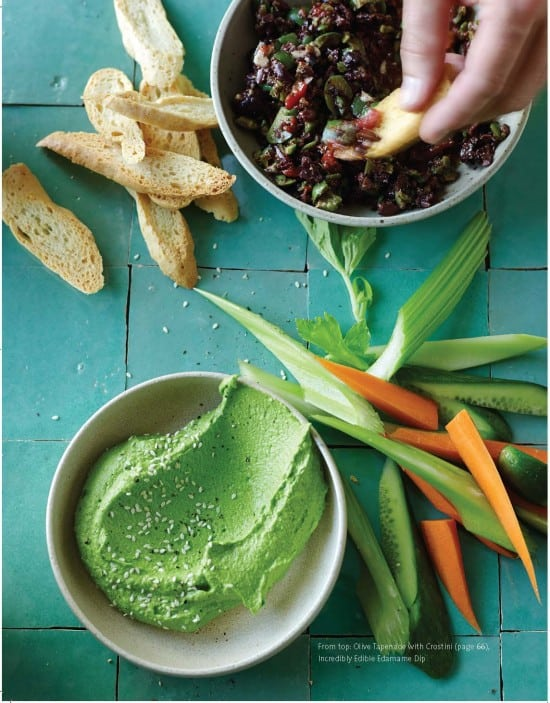 Incredibly edible edamame dip