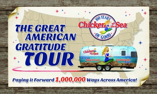 Chicken of the Sea's Great American Gratitude Tour 2014!