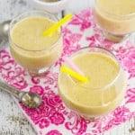 mango, banana & chia seed smoothie